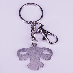 Grow A Pair Ovarian Keychain