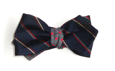 One of a Kind Reversible Bow Tie