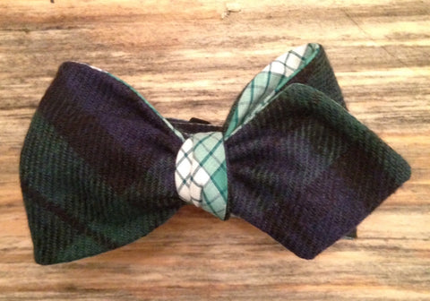 Tartan and Glenplaid Bow Tie