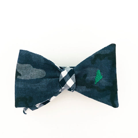 Maine Camouflage Bow Tie