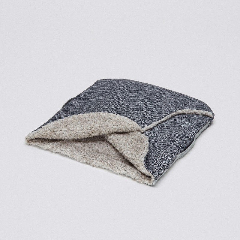 C7 Hundeschlafsack Tweed Taupe