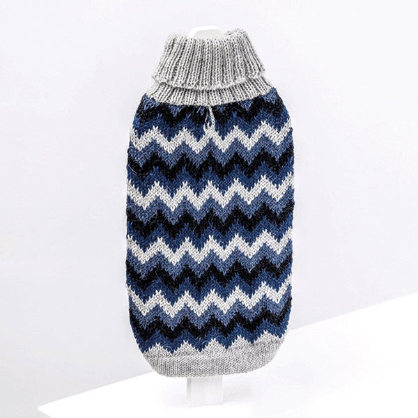 Laden Sie das Bild in den Galerie-Viewer, ALQO WASI Chevron Blue