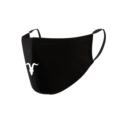 IGNITE Double Layer Face Mask - Black