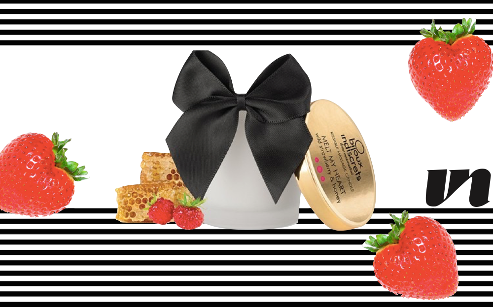 Bijoux Indiscrets Wild Strawberry Candle