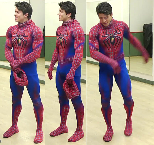 hot spiderman cosplay