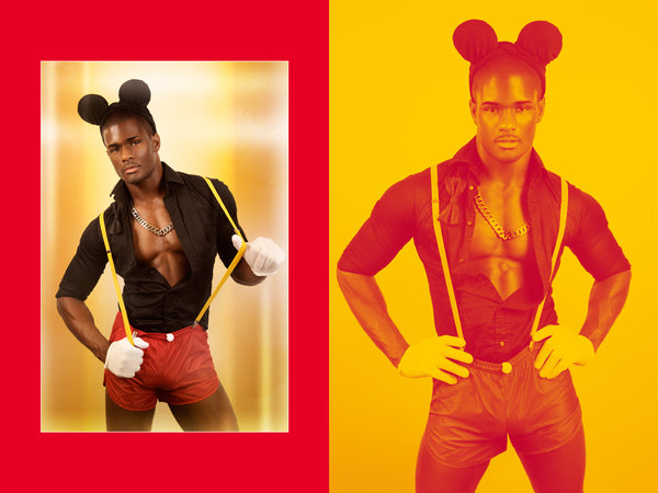 hot cosplay mickey mouse