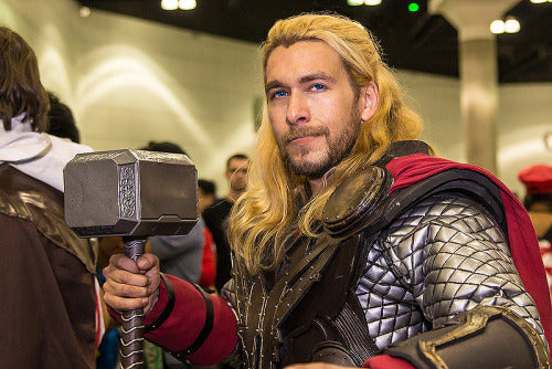 hot cosplay thor