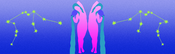 Illustration of Aquarius sign