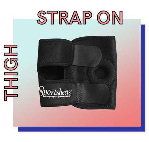 Thigh strap-on harness by Sportsheets