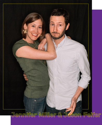 """In Bed with Jennifer Miller and Jason Feifer, Writers of """"Mr. Nice Guy"""""""