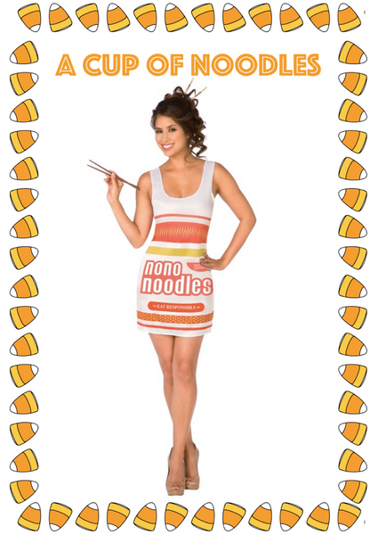 Cup of Noodles Halloween Costume