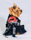 Black Kiss Me Dress for Small Dog