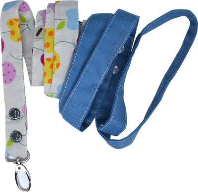 Fruit Body Harness with Leash Blue