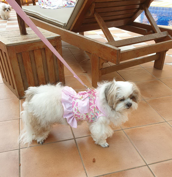 Pink Doggy Body Harness