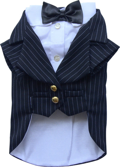 Stripe Classic Tuxedo for Small Dog