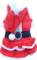 Santa Dress for French Bulldog & Pug