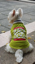Green Bad Dogs T-Shirt for Small Dog