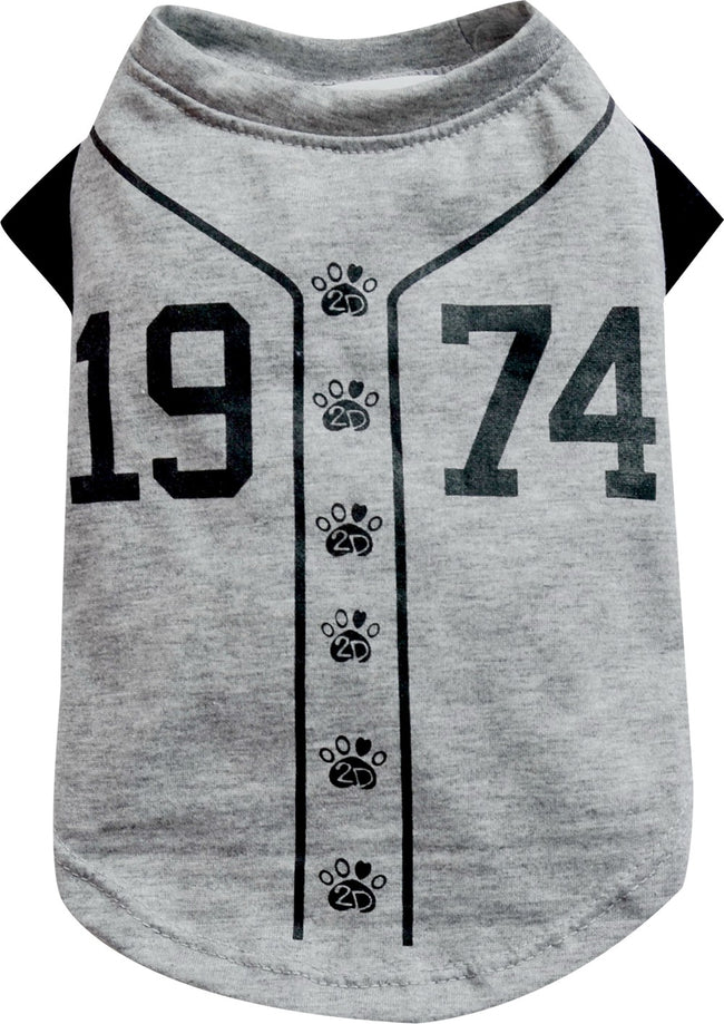 1974 Baseball T-Shirt for Small Dog