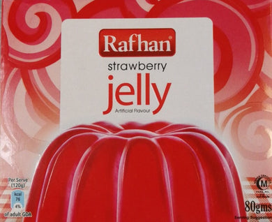 Rafhan Strawberry Jelly  80 g