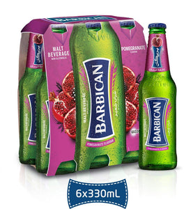 Barbican Pomegranate 6 Bottles Pack