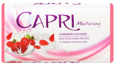 Capri Moisturising Strawberry softeners