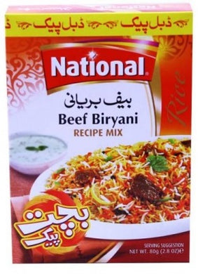 National Beef Biryani Masala 45g