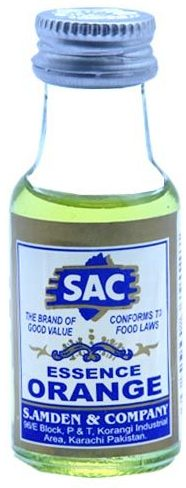 Sac Orange Artificial Flavor 25ml