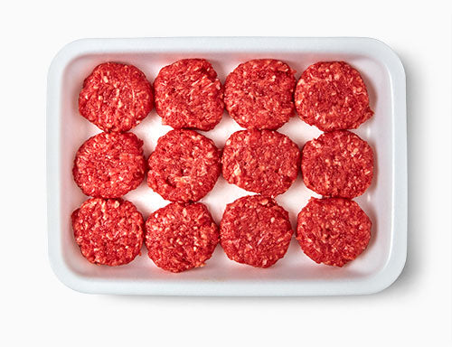 Halal Frozen Beef Mini Burger 12 Pieces