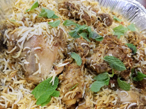 Half Tray Chicken Biryani