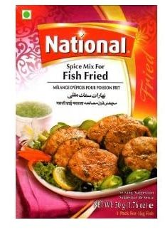 National Fish Fried 50g