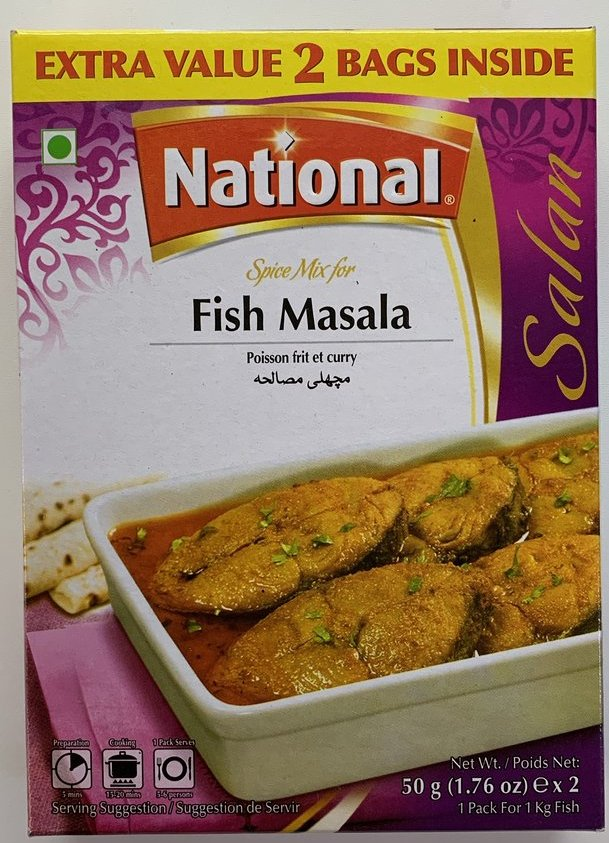National Fish 50gm