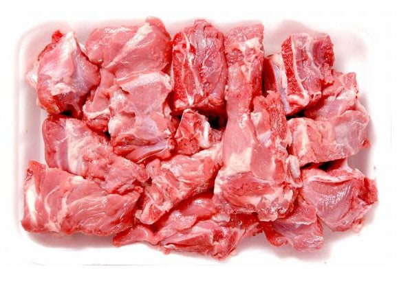 Halal Fresh Lamb Stew Mix 1 KG