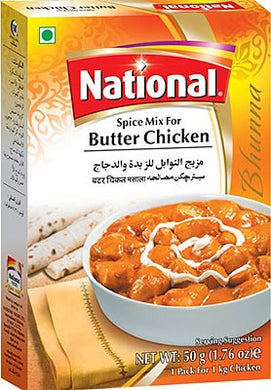 National Butter Chicken Masala 50g