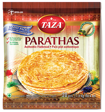 Taza Paratha Whole Wheat 20pcs