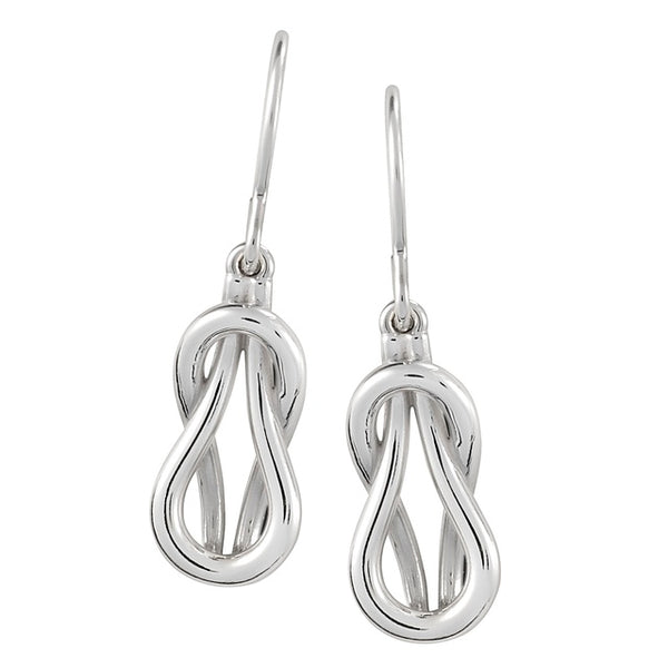 Love Knot Diamond Earring with NO CENTER