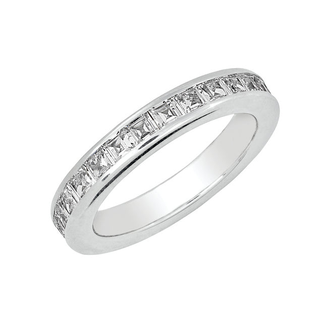 PRINCESS CUT CHANNEL SET MACHINE SET ETERNITY BAND