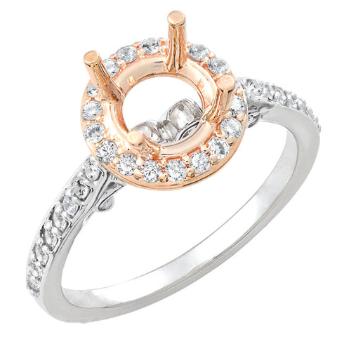 Lady's Diamond Engagement Ring