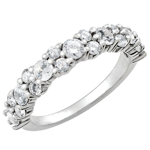 Prong Set Diamond Stackable Ring