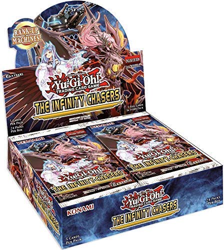 Yu-Gi-Oh! The Infinity Chasers Booster Box | Galaxy Games LLC