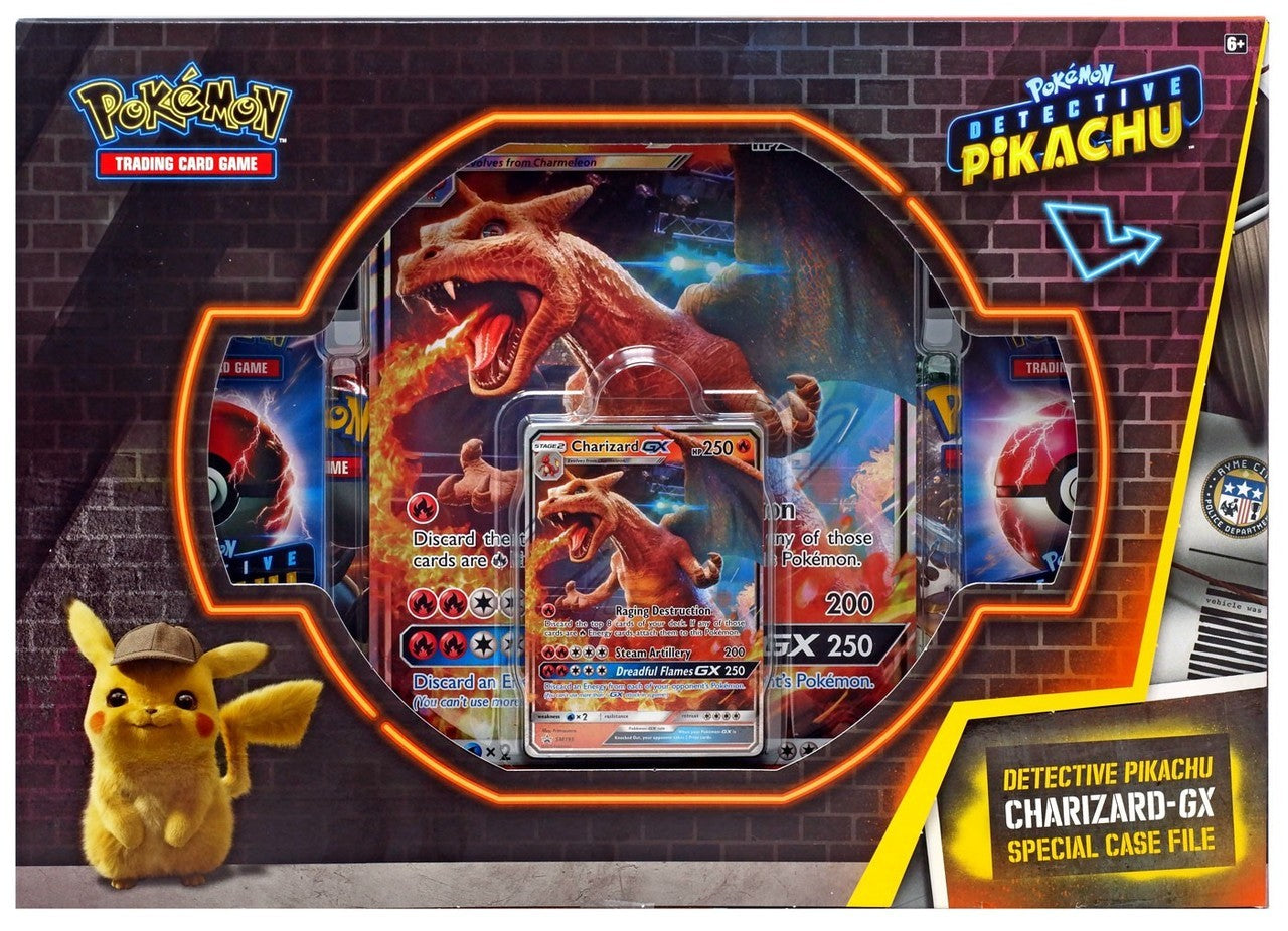 Detective Pikachu Charizard GX Case File | Galaxy Games LLC