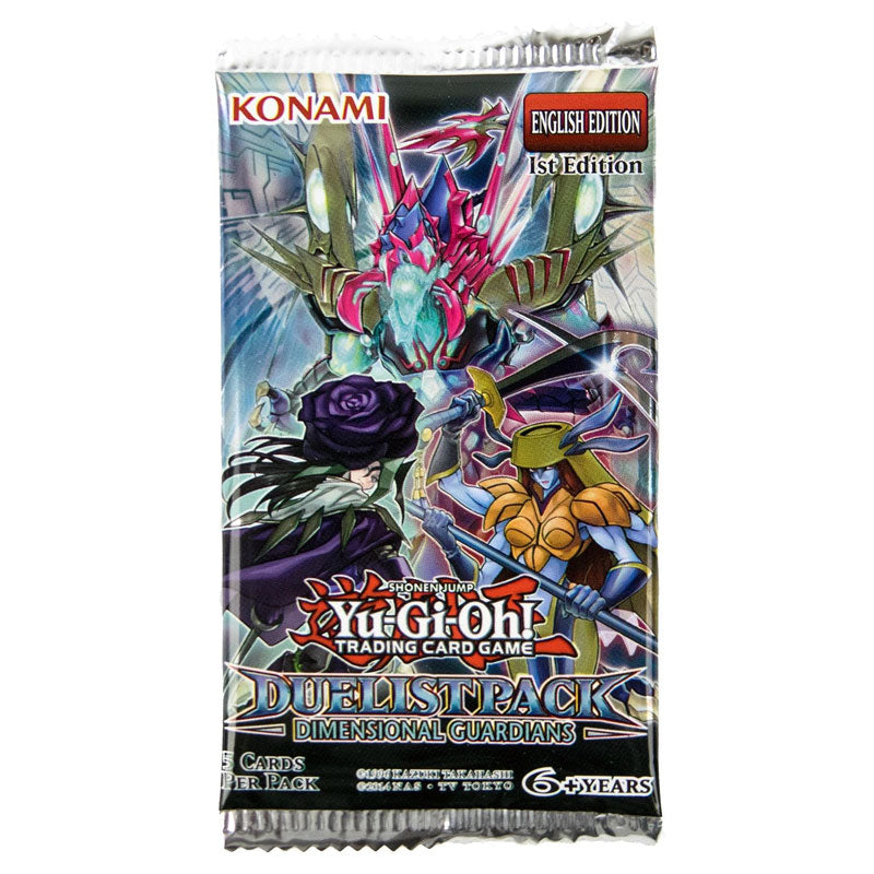 Duelist Pack: Dimensional Guardians Booster Pack | Galaxy Games LLC