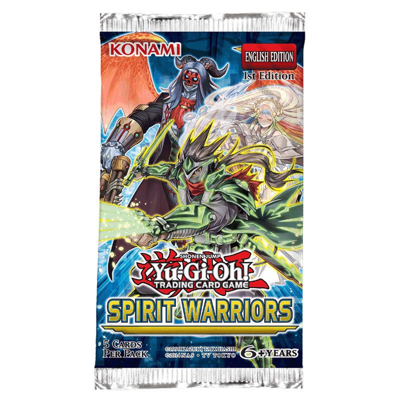 Spirit Warriors Booster Pack | Galaxy Games LLC