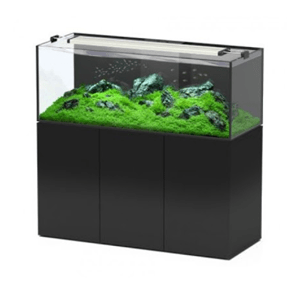 Aquatlantis - Black Aquarium Aquaview Ultraclear 500 L & Cabinet