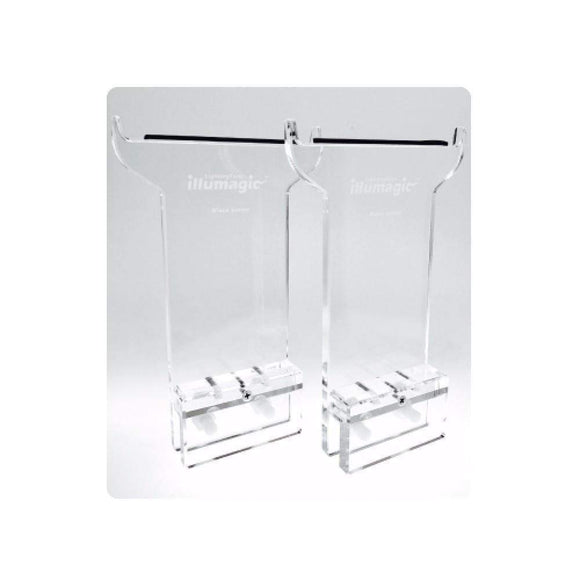 Illumagic Lights - Rimless Acrylic Legs - Pair of 2