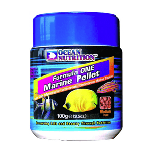 Ocean Nutrition Product Formula 1 Marine Pellet Medium 100g