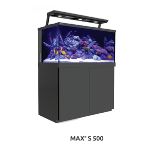 Red Sea Product MAX S500 Aquarium Complete System - Black
