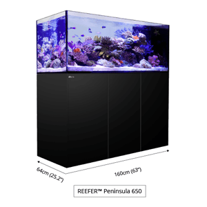 Red Sea Product Reefer Peninsula 650 Aquarium Complete System