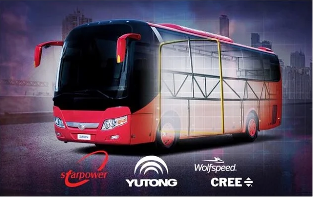 Cree Partners with the Yutong Group to Bring China its First SiC-Powered Electric Bus