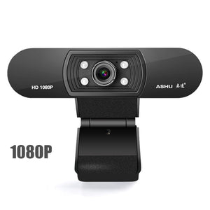 Pro 1080P HD Webcam with Built-in Microphone USB Webcam