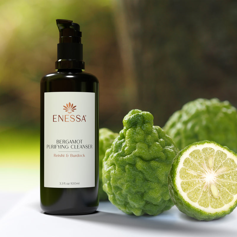 Bergamot Purifying Cleanser - Enessa Organic Skin Care